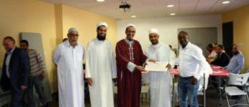 La rencontre des presidents de mosquées Pays de Loire est les imams, le 21/05/17
