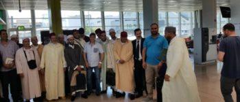 Réception des imams de rabat à la mosquée d'Évry-Courcouronnes, 25 mai 2017 à la région PACA (l'accueil à l'aéroport de Marseille)