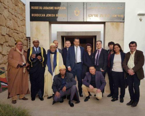 Voyage interreligieux au Maroc organisé Par le CRCM et l'UMF Mars 2018