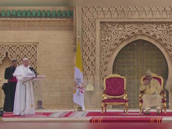 Discours du Pape François à l'esplanade de la mosquée Hassan