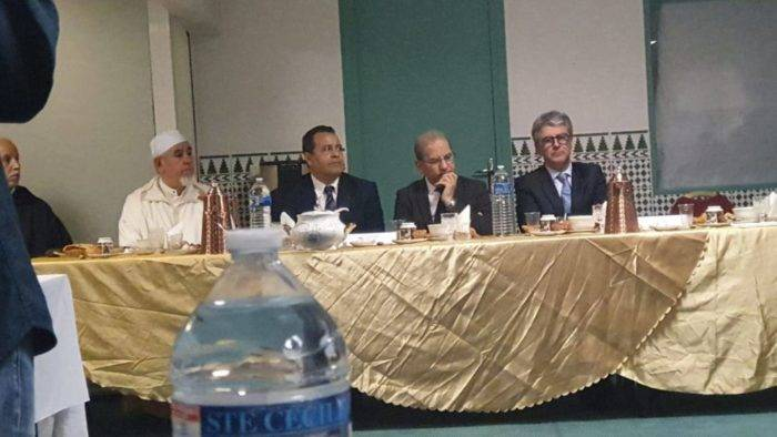Iftar de l'UMF à la mosquée Al Forqane de Nice en présence du Préfet des Alpes Maritimes mai 2019
