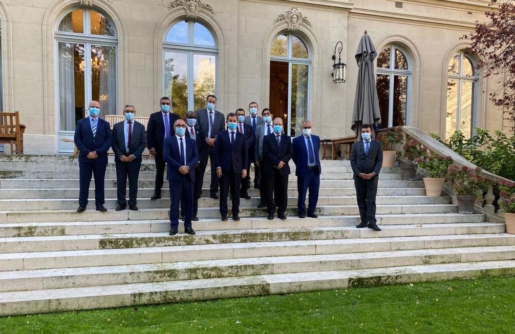Rencontre du CFCM avec le Ministre de l'intérieur M. Gérald Darmanin